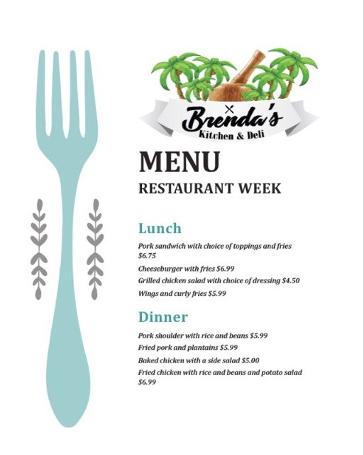 Brenda S Kitchen And Deli Menu