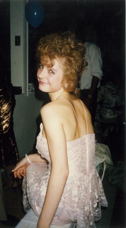 Sabrina 80's style