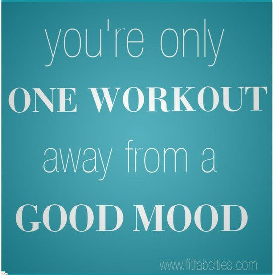 workout good mood