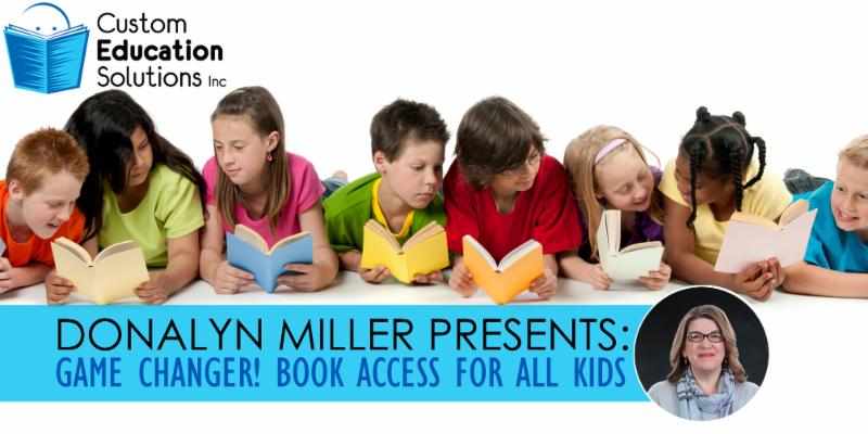 Donalyn Miller presents her new book at Custom Ed
