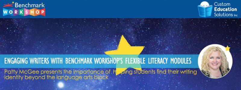 Patty McGee presents Benchmark Workshop at Custom Ed
