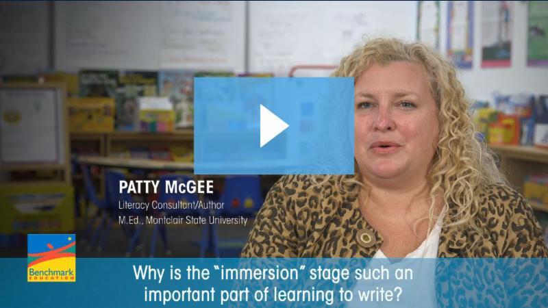 Patty McGee presents about Immersion in Writing at Custom Ed