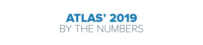Atlas' 2019 By the Numbers