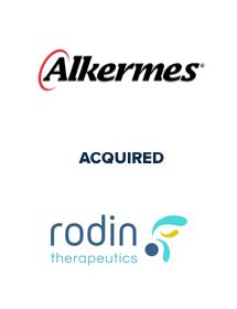 Alkermes acquired Rodin Therapeutics