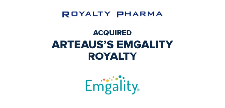 Royalty Pharma acquired Arteaus's Emgality Royalty