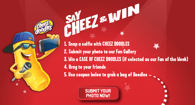 say cheez and win facebook application
