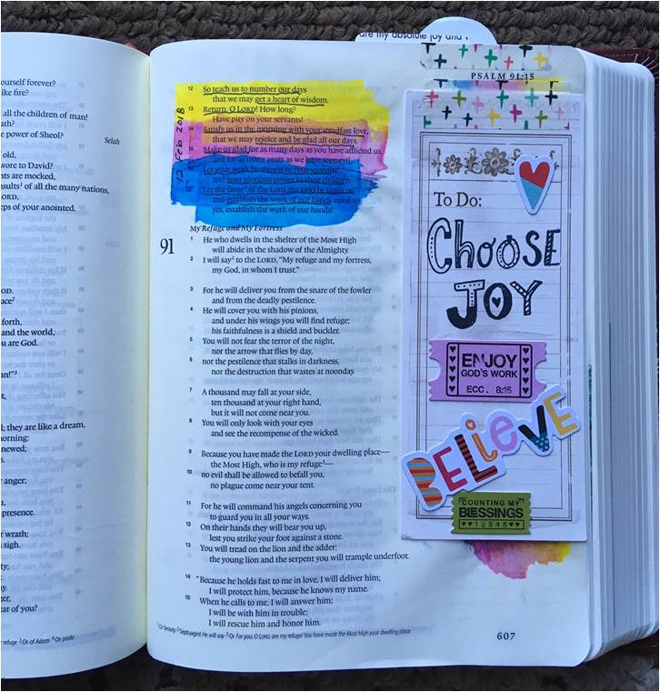 BIBLE Art Journaling for Beginners @ Hobby Lobby (North)