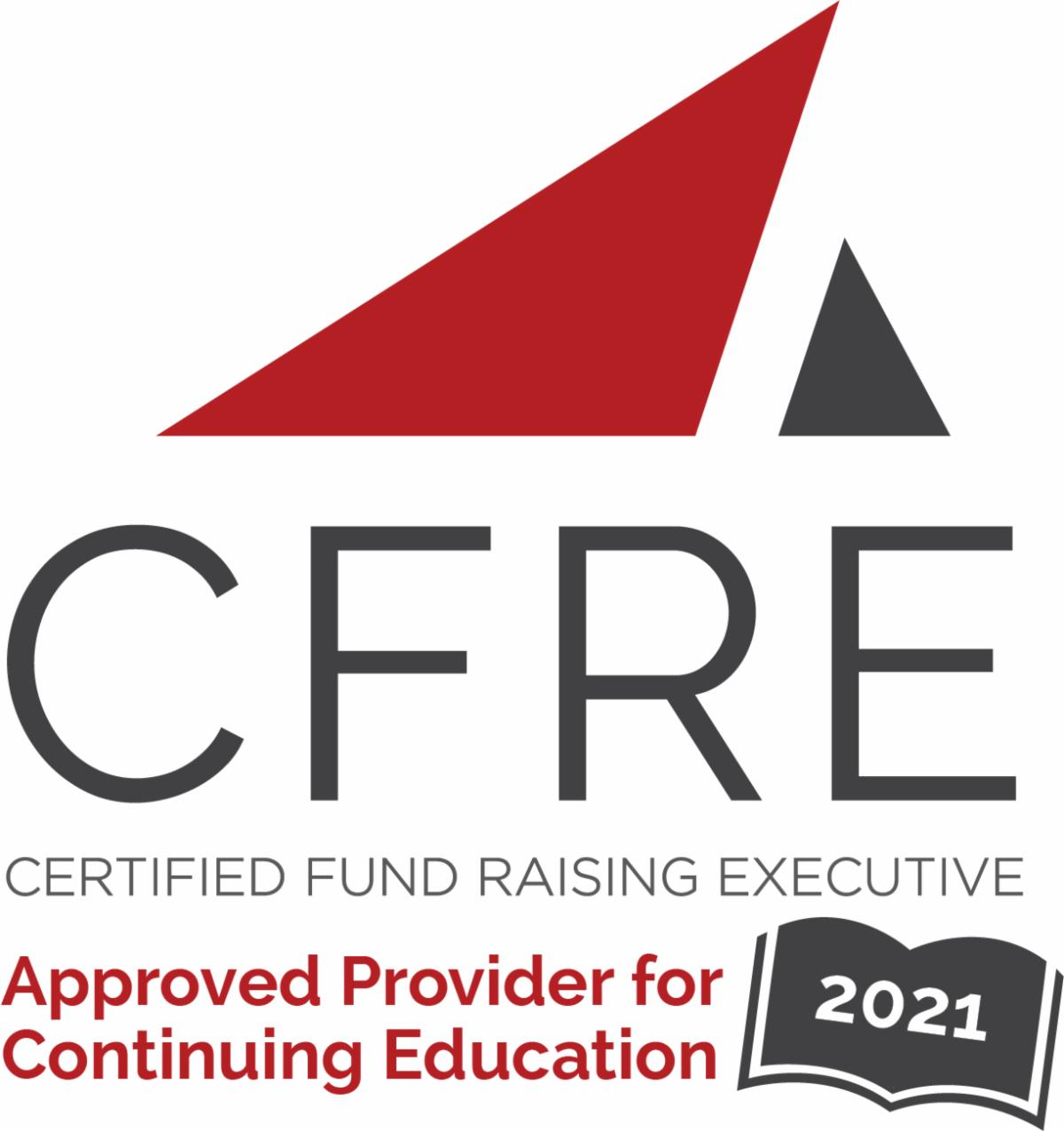 This program has been approved for 1.0 pts of CFRE continuing education credits.