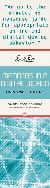 Digital Manners no Dan head