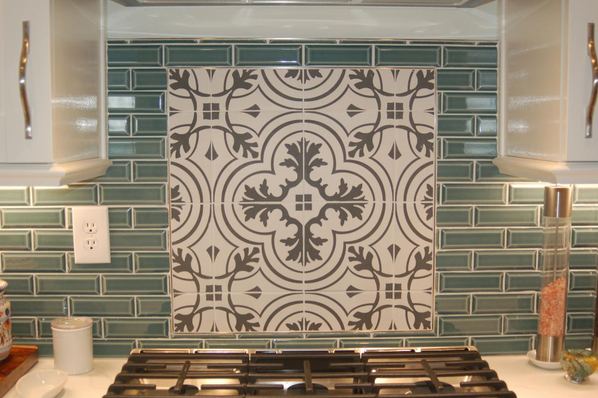 Spangler Kitchen Remodel Tile Backsplash Accent