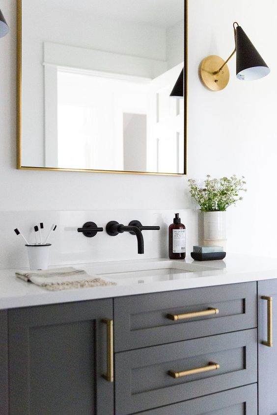 2019 Bathroom Remodeling Trends Matte Finishes