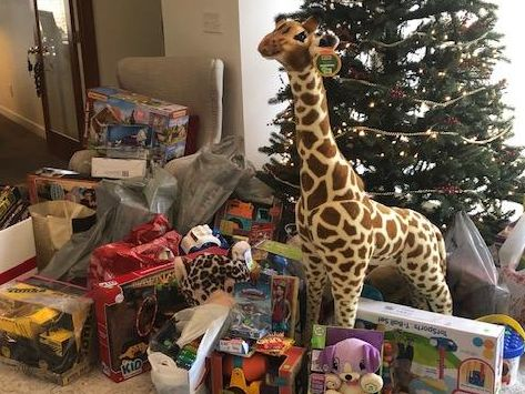 Toys for Tots Donations Hatchett Design Remodel Newport News Showroom