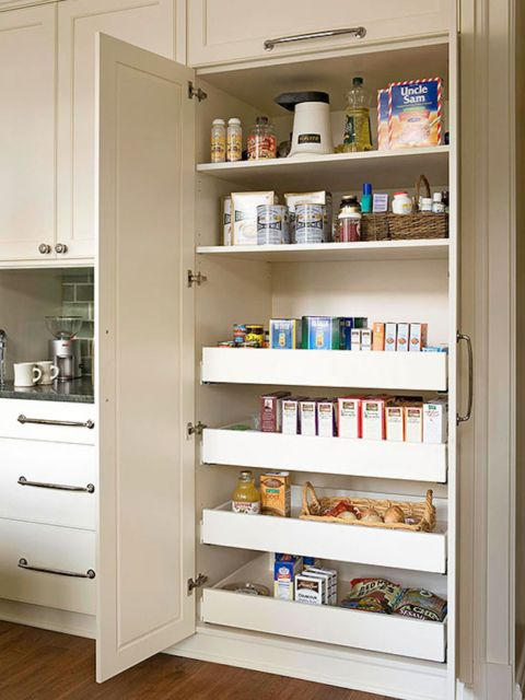 Kitchen Pantry Built In Storage Remodel