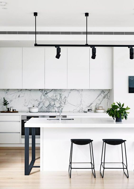 Kitchen Cabinet Trends, Contemporary Style, Sleek Clean Lines