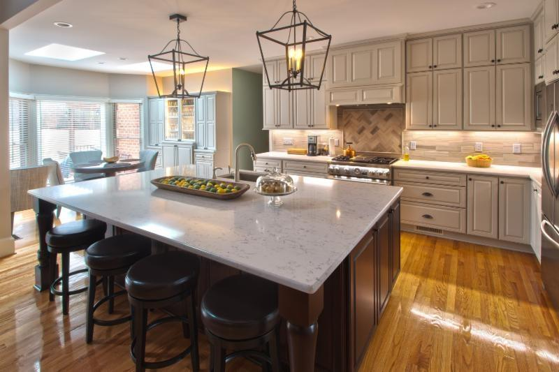 Hunting Kitchen Island