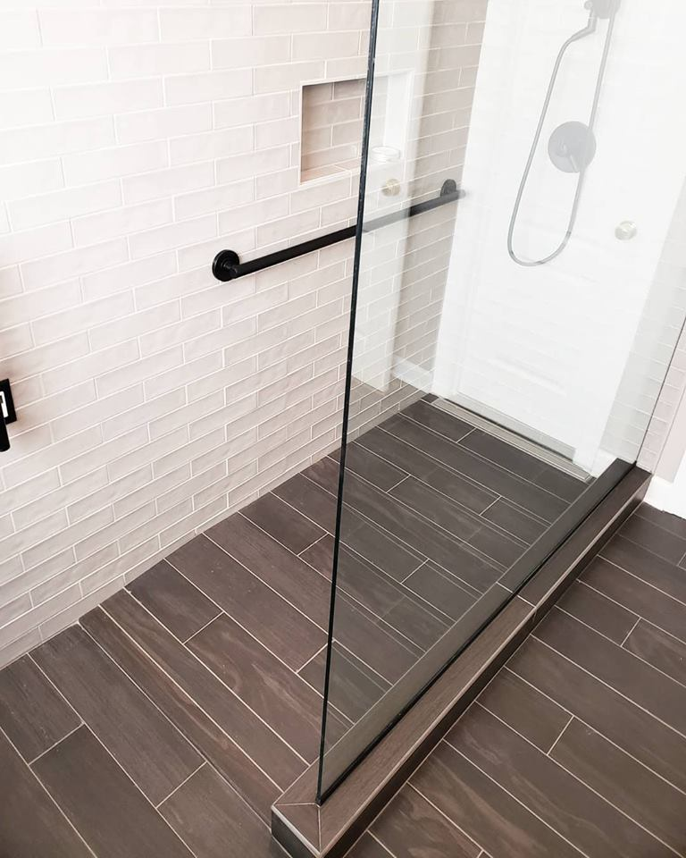 Reed Master Bathroom Remodel Curbless Shower Universal Design