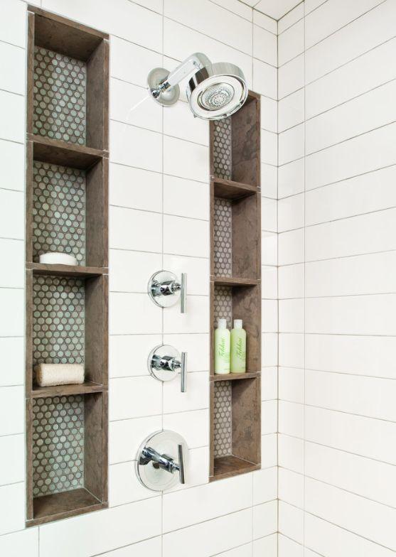 Bathroom Storage Shower Shelves
