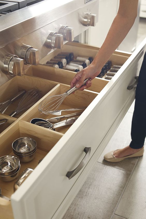 Kitchen Cabinet Trends, Drawer Storage Replacing Lower Doors
