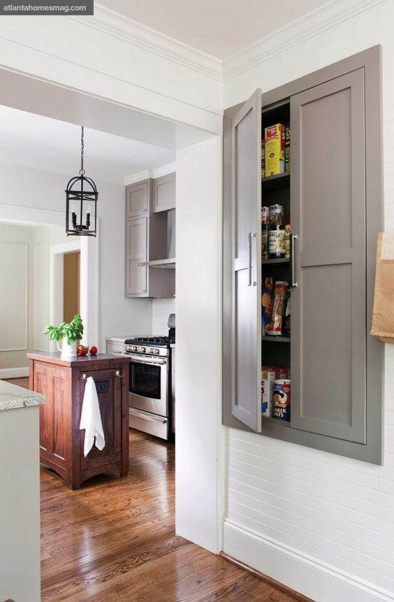 Recessed Pantry Kitchen Remodel