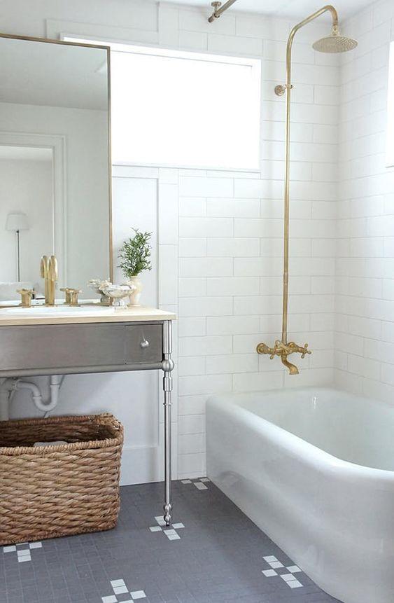 New Bathroom Trend Exposed Shower Plumbing