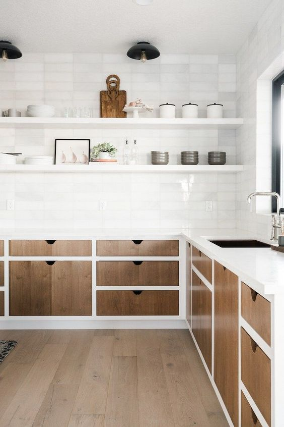 Kitchen Cabinet Trends, Open Shelving