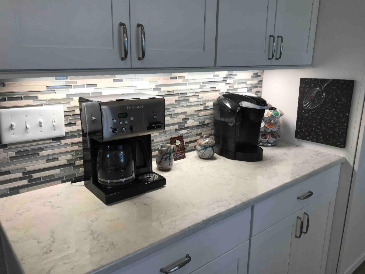 Kitchen Remodel Coffee Bar