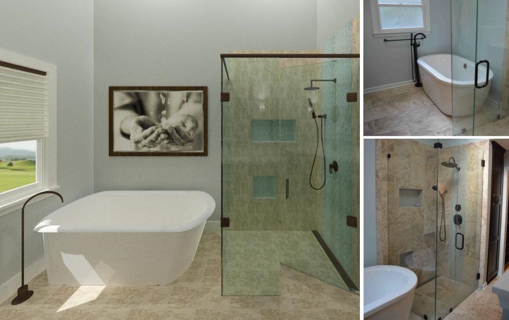 Bathroom Remodel Photo-Real Renderings