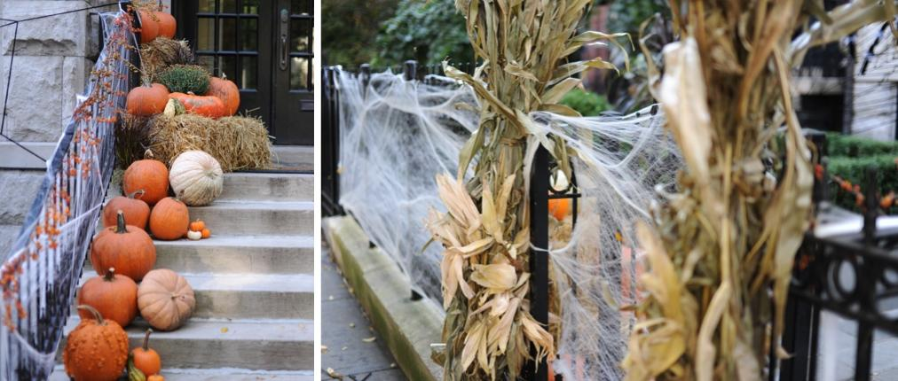 Halloween Decor Curb Appeal