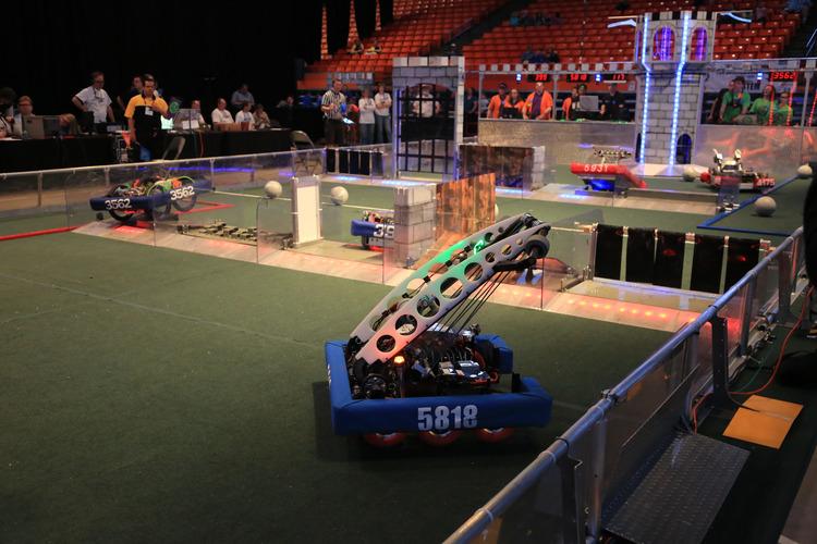 Riviera Robot at work 2016