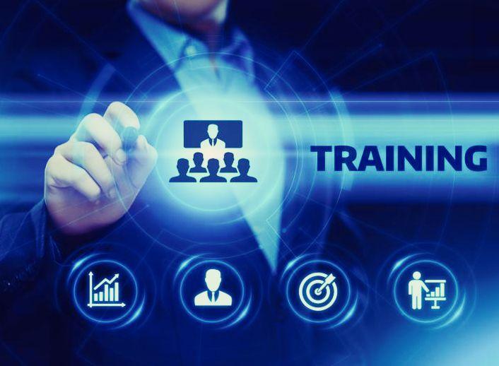 Training Webinar E-learning Skills Business Internet Technology Concept.