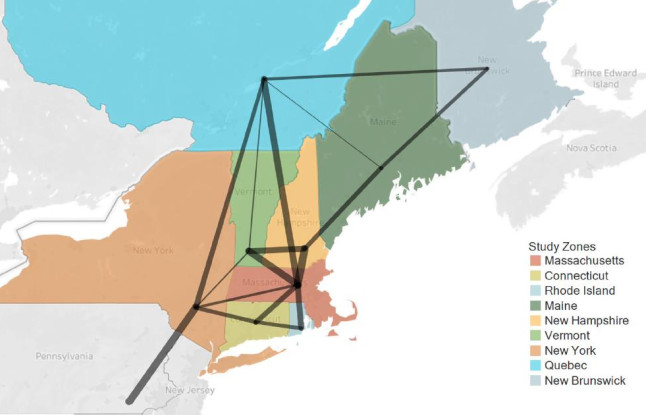 Northeast Electric Grid Connections