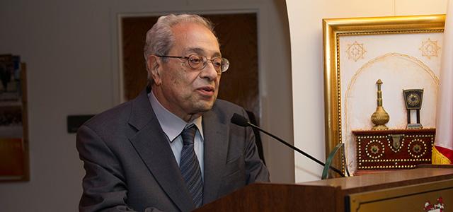 H.E. Ambassador Clovis Maksoud (1926-2016).