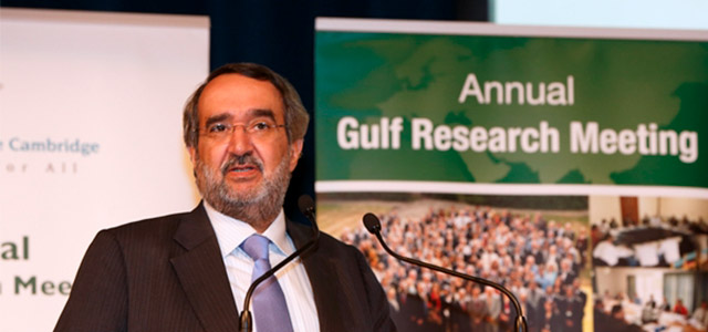 Dr. Abdulaziz Sager is the founding and chief facilitator of the Annual Gulf Research Meeting. Photo: Gulf Research Center.