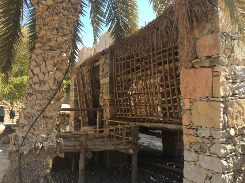 This type of house in the Musandam Peninsula allowed breezes to flow freely, helping residents to stay as cool as possible in the dry, hot climate.