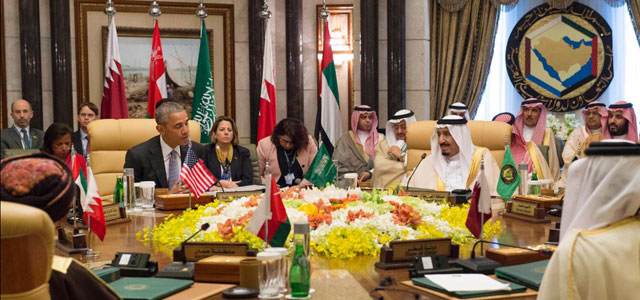 President Barack Obama attends a U.S.-GCC summit in Riyadh, Saudi Arabia, in April 2016. Photo: Saudi Press Agency.