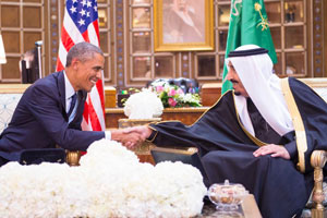 President Obama and King Salman discussed bilateral relations along with a number of economic, regional, and international issues during their recent meeting.