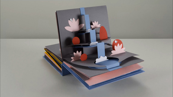 Pop-Up book, The Life Cycle of Water