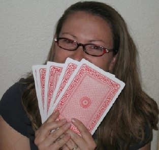 Michelle w cards