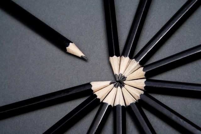 Pencil spoke