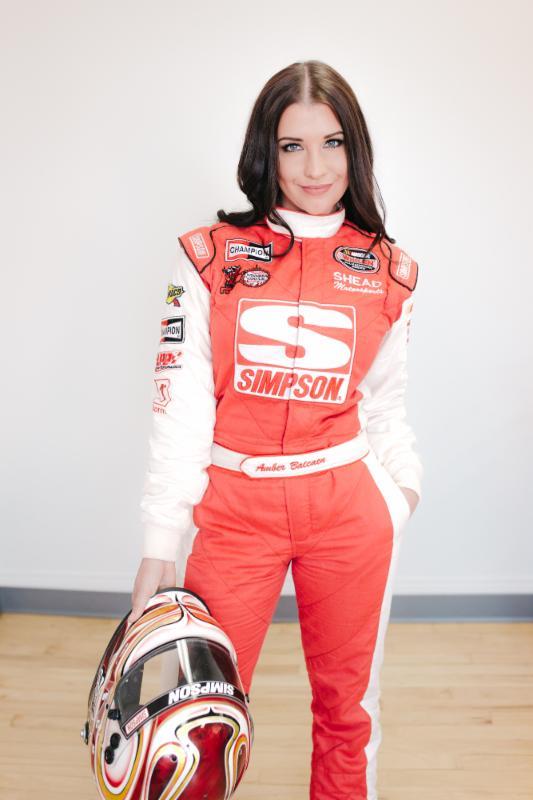 Female Race Car Drive