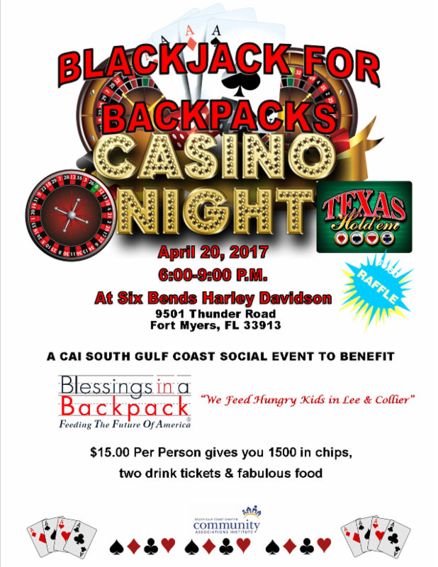 Black Jack For Back Packs