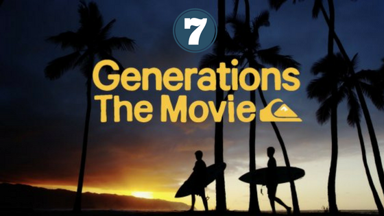 7 Reasons why you can't miss Quiksilver 'Generations' tonight: WATCH THE QUIKSILVER GNERATIONS MOVIE PREMIERE