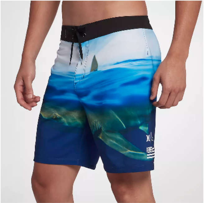 Island Water Sports Deerfield Beach Florida Clark Little x Hurley Collection for Shark Week