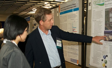 Poster presentations at the Algae Biomass Summit