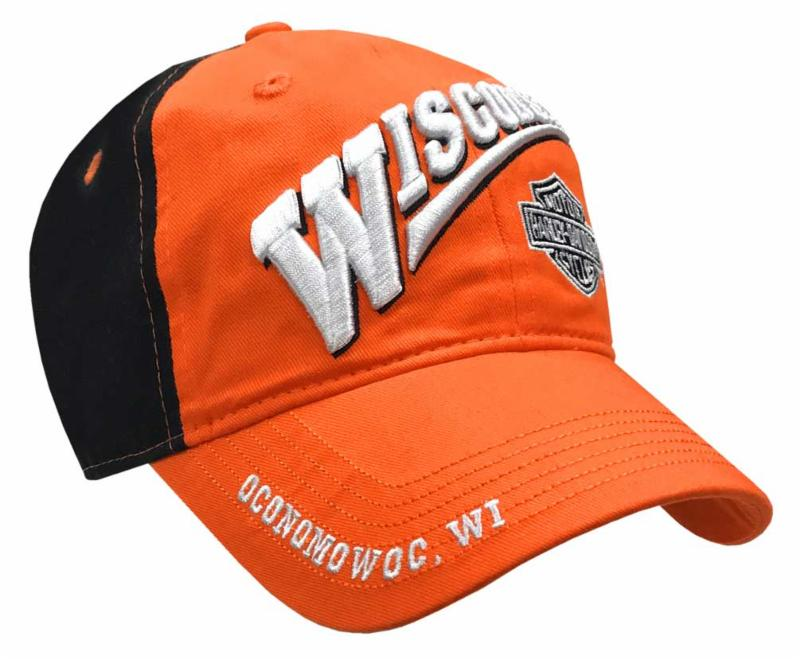Wisconsin Harley Baseball Hat