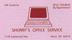 sherry's office services
