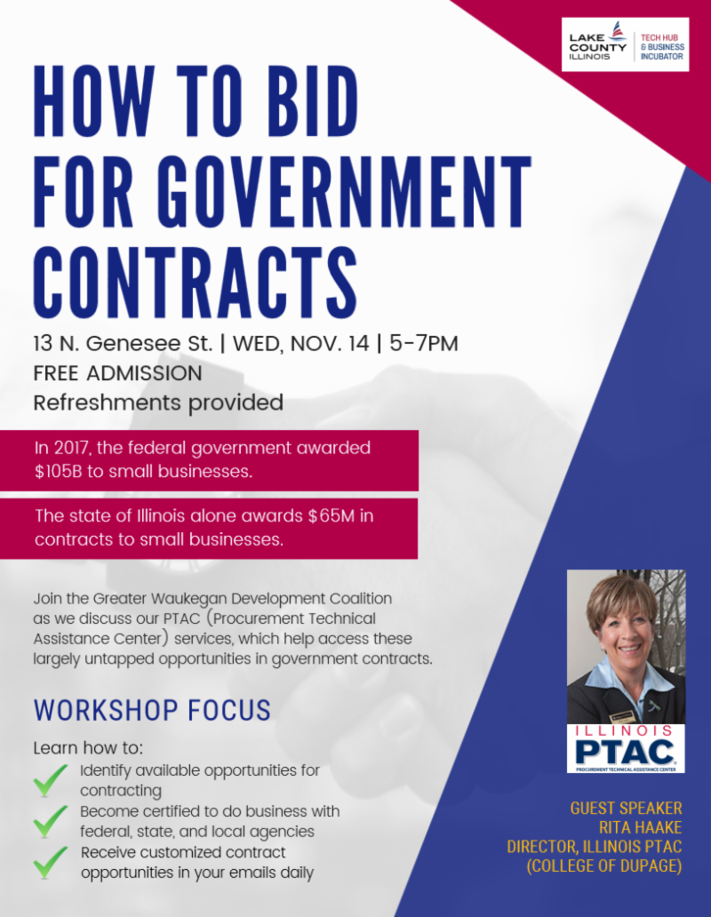 Pitch Night At The Hub Government Contracts