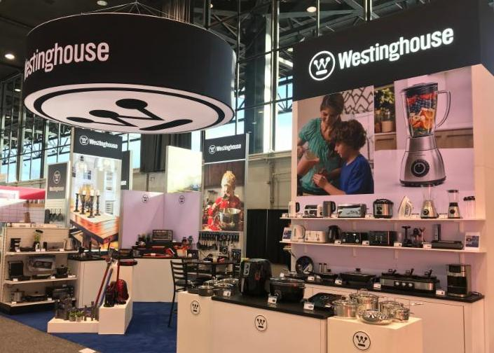 Westinghouse Attends the 2018 International Home + Housewares Show, and displayed a wide range of small appliance products.