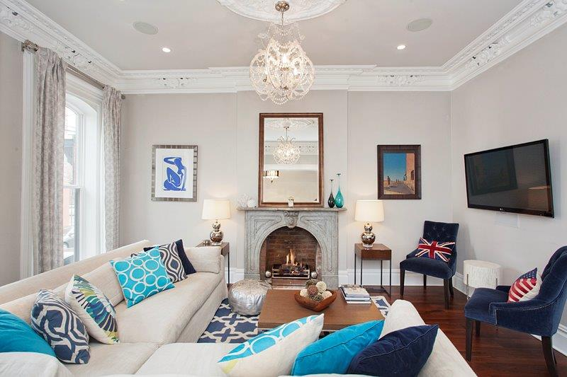 Original Victorian details with contemporary style
