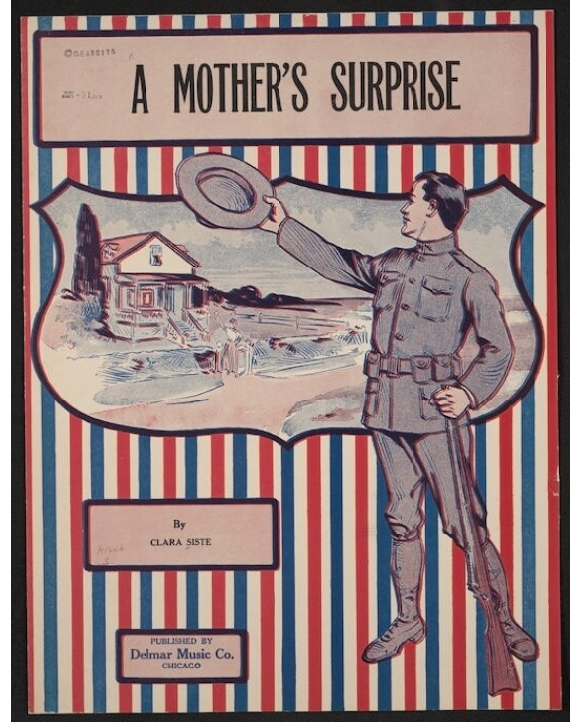 Sheet music_ A Mother_s Surprise